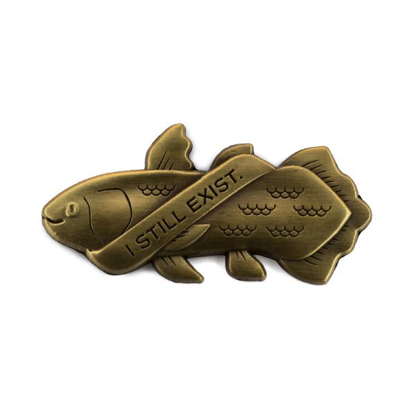 Coelacanth (3D) Pin