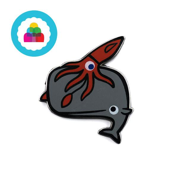 Deep Sea Friends Pin