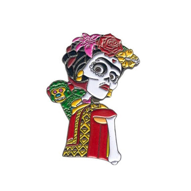 Frida from Coco Enamel Pin