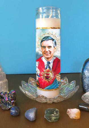 Mr. Rogers Candle