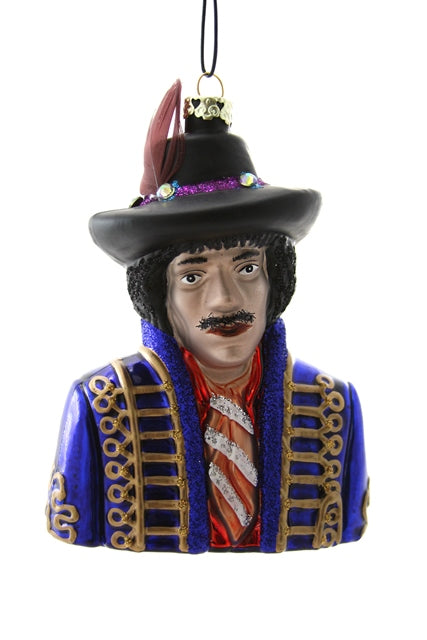 Jimi Hendrix Ornament