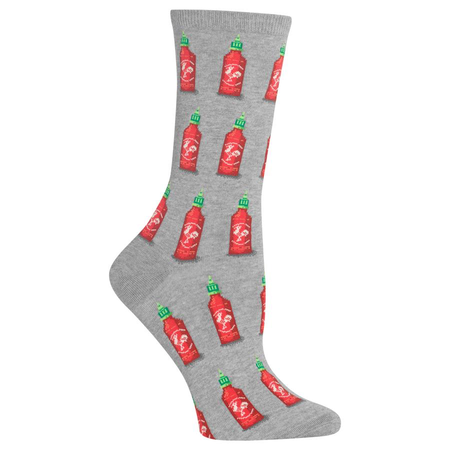 Women's Hot Sauce Crew Socks