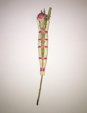 Wildflower & Herb Smudge Wand