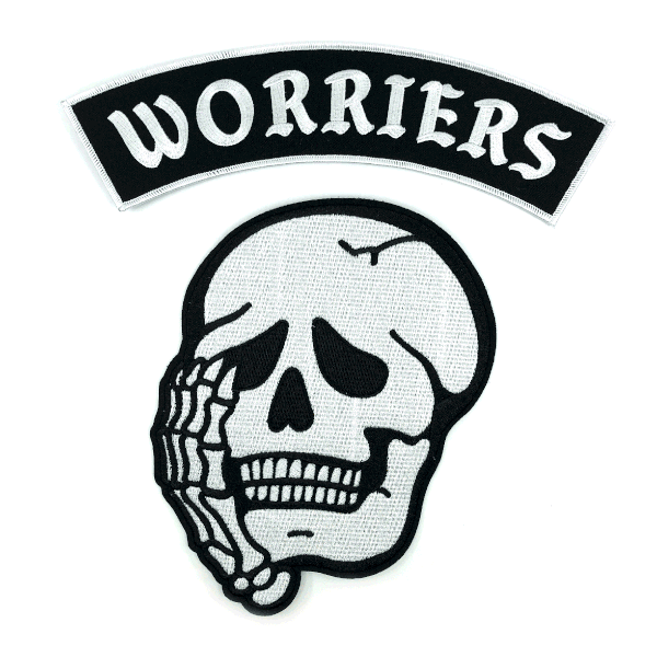 Worriers Back Patch Set