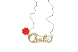 Chula Rose Necklace