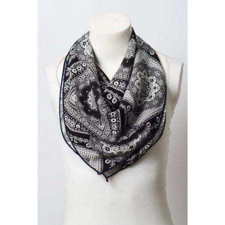 Moroccan Floral Pattern Scarf