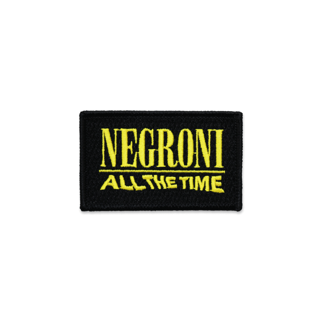 Negroni All The Time Patch