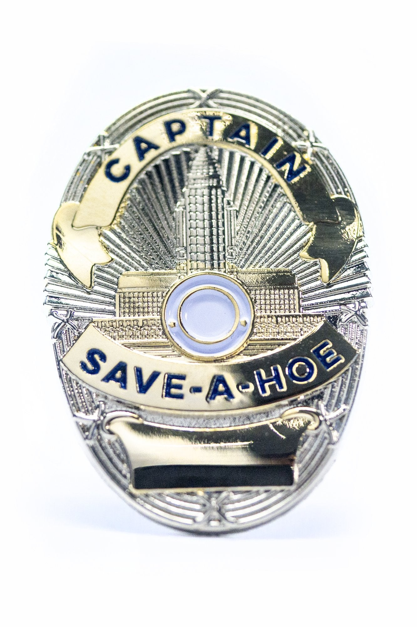 Captain Save a Hoe Pin