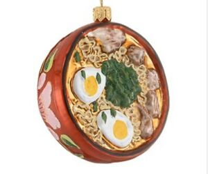 Red Ramen Ornament