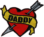 Daddy Heart Patch
