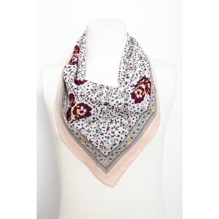 Orchid Floral Scarf