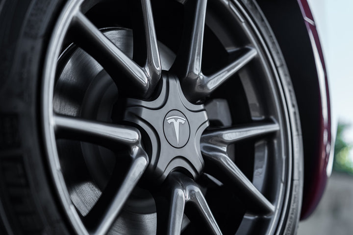NEW Aftermarket Tesla Model 3 Aero Wheel Kit Design - Custom Aero Wheels