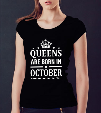October Queens T-shirt