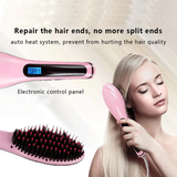 Rapunzel's Straightener Brush - Get Salon Like Hair at Home!
