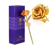 Gold Rose with Gift Box - The perfect Gift!