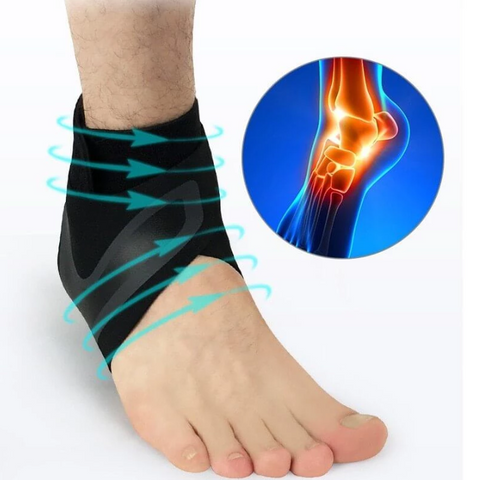WALK-HERO - The adjustable elastic ankle brace