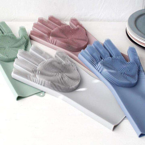 Silicone Smart Gloves For Multipurpose Cleaning