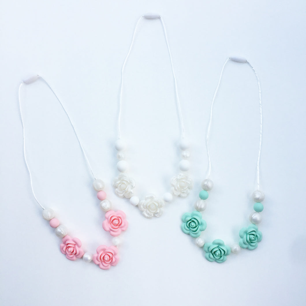 String of Roses Necklace