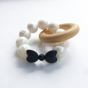 Bow Teething Ring