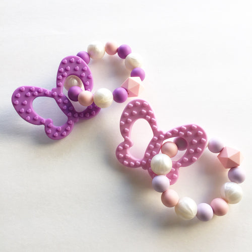 Butterfly Teething Ring