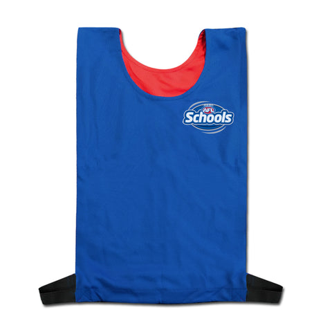 AFL Sporting Schools Reversible Bib Pack of 18
