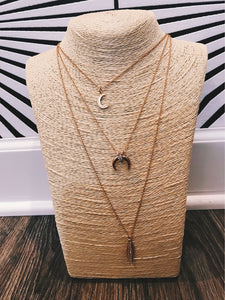 Lunar Lovely Layered Necklace - KLOTH & CO