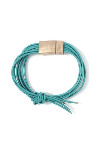 Truly Turquoise Magnetic Bracelet - KLOTH & CO