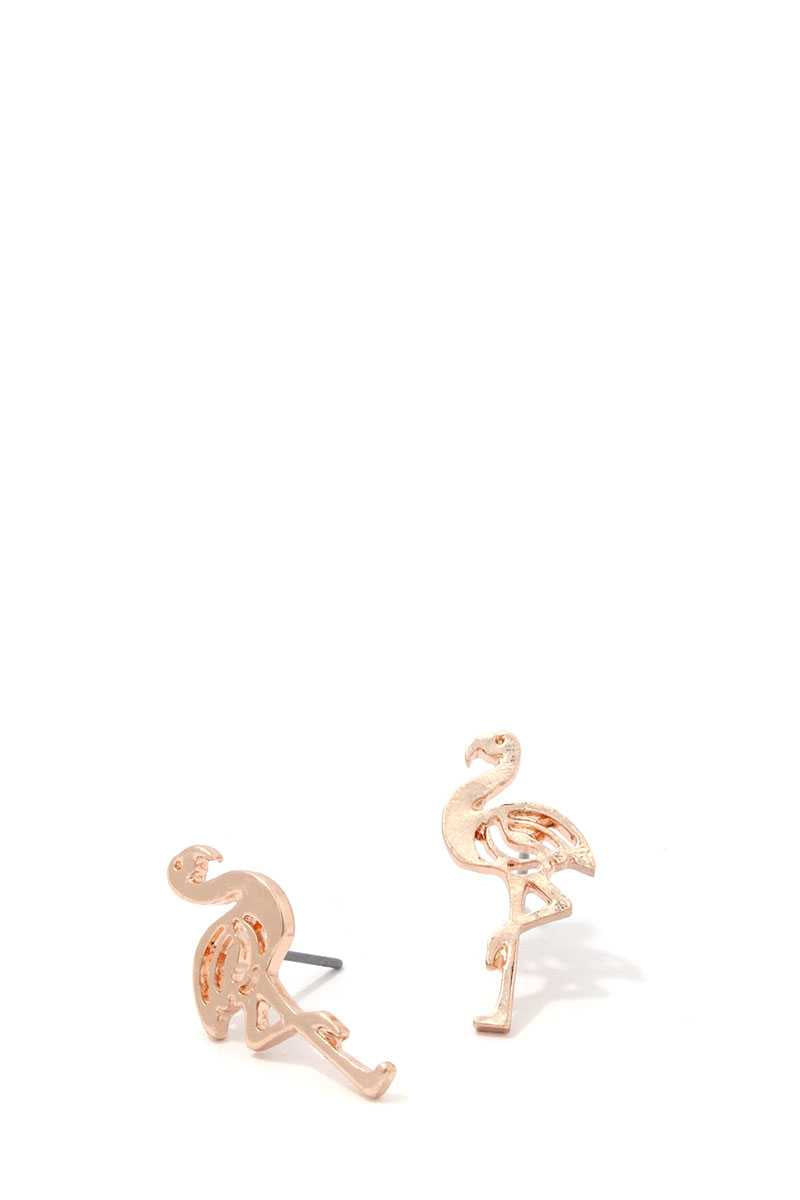 Don't Give A Flock Flamingo Earrings - KLOTH & CO