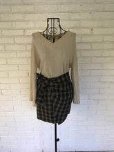 Load image into Gallery viewer, Tie One On Plaid Mini Skirt - KLOTH & CO
