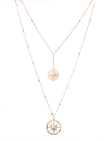 Starry Night Gold Layered Necklace - KLOTH & CO