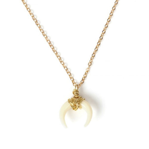 Khaleesi Gold Horn Necklace - KLOTH & CO