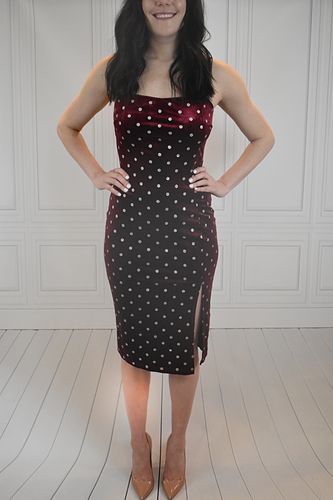 XOXO Red Velvet Dress - KLOTH & CO
