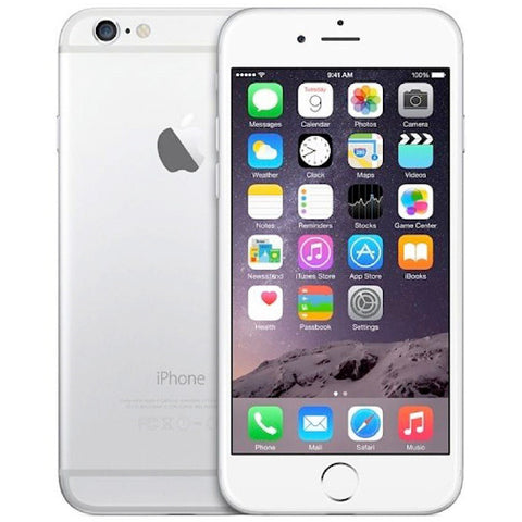 Apple iPhone 6 64GB Network Unlocked - Silver - phonesforsale.ie
