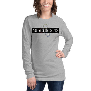 Artist Fan Share Apparel Unisex Long Sleeve Tee
