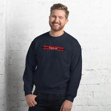 "Load image into Gallery viewer, ""Started From Scratch"" Unisex Sweatshirt w/black stripe"