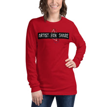 Load image into Gallery viewer, Artist Fan Share Apparel Unisex Long Sleeve Tee