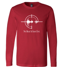 Load image into Gallery viewer, No Beat Is Safe Ent. Apparel Long Sleeve T-Shirt