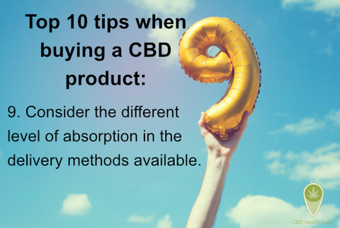 CBD Top Tips