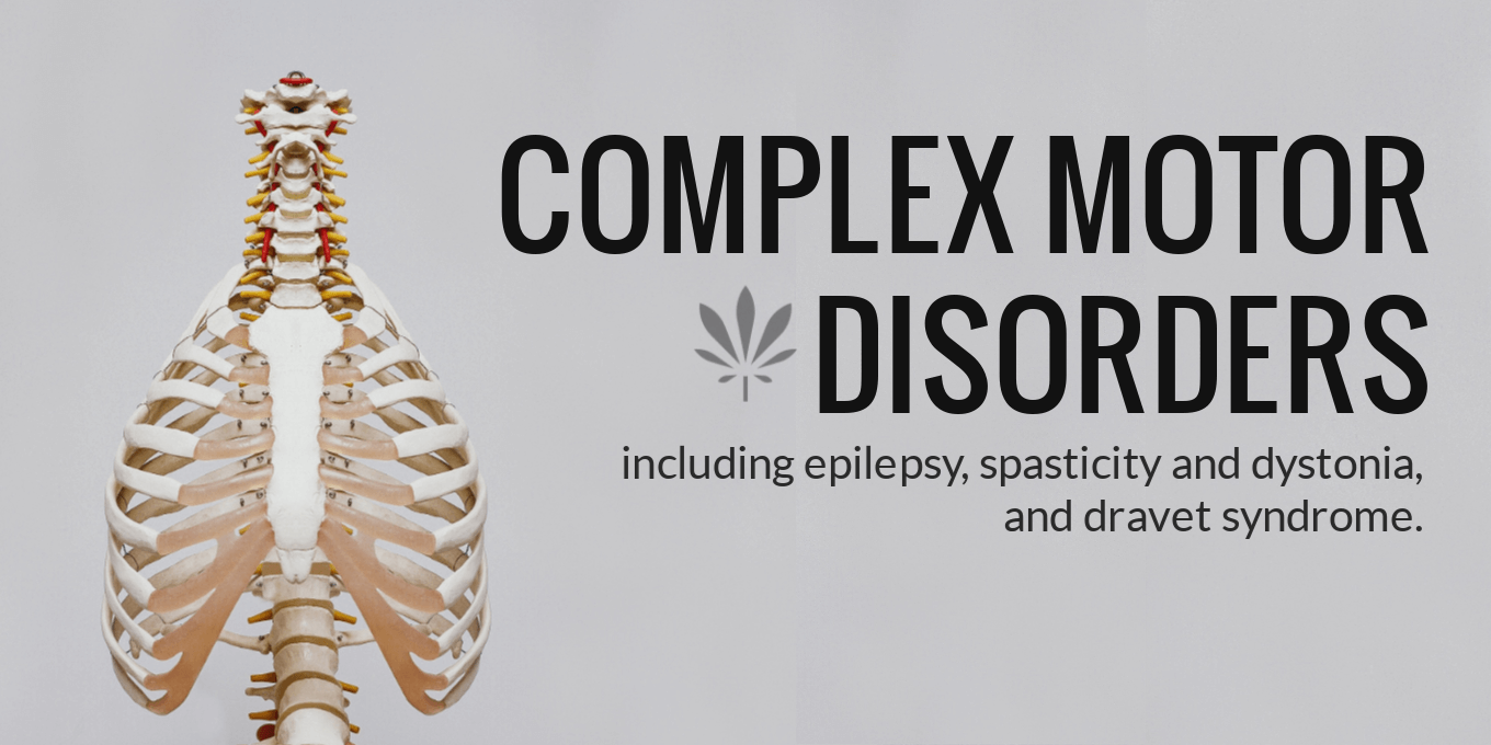 CBD oil and complex motor disorders