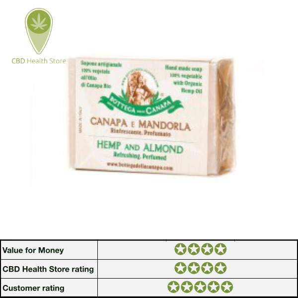 Bottega Della Canapa Hemp Soap - Almond