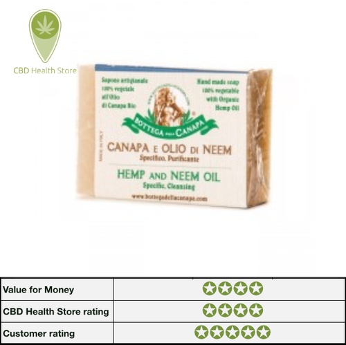 Bottega Della Canapa Hemp Soap - Neem Oil