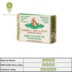 Bottega Della Canapa Hemp Soap - Olive Oil