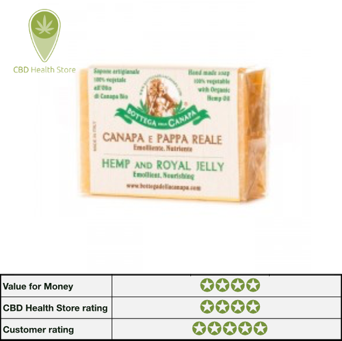 Bottega Della Canapa Hemp Soap - Royal Jelly