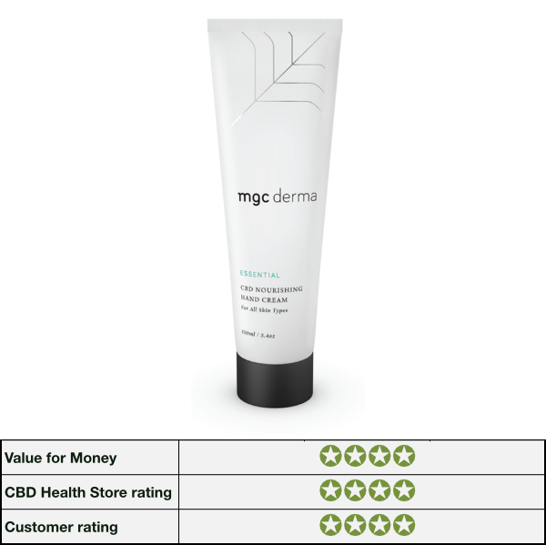 CBD Hand Cream Nourishing for all skin types by MGC Derma image for shop