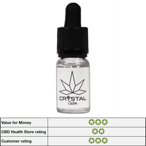 CBDLife Crystal Calm Vape Additive 500mg - 10ml bottle