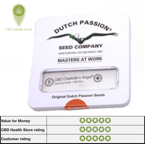 Dutch Passion's CBD Auto Charlotte's Angel - 7 seeds - Feminised