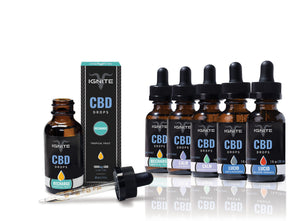 CBD Oil Drops | Ignite | Blood Orange | 1200mg | 30ml bottle