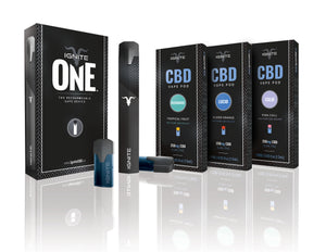 CBD Rechargeable Vape Pod | Ignite | Apple Berry Lucid | 250mg
