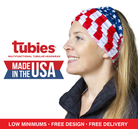 MADE IN USA - Full Color Print - Custom Tubies®