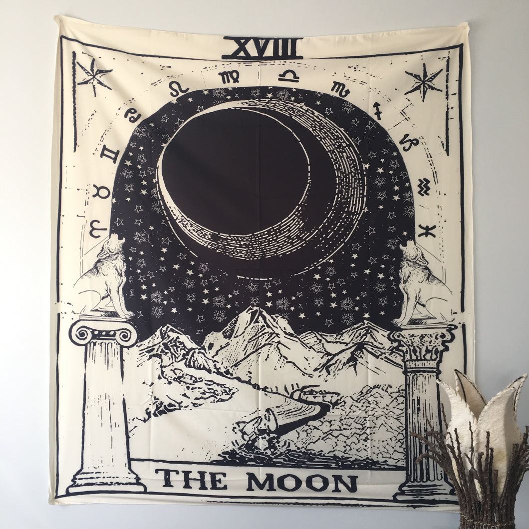 Moon Tarot Tapestry